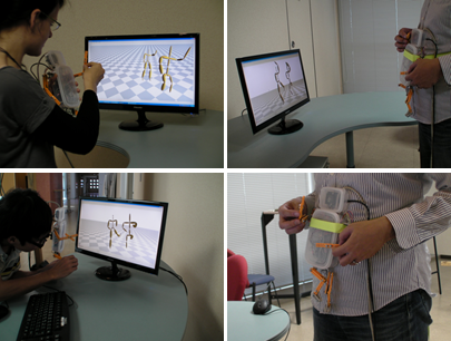 人形インタフェースによる動作検索A Puppet Interface for Retrieval of Motion Capture Data