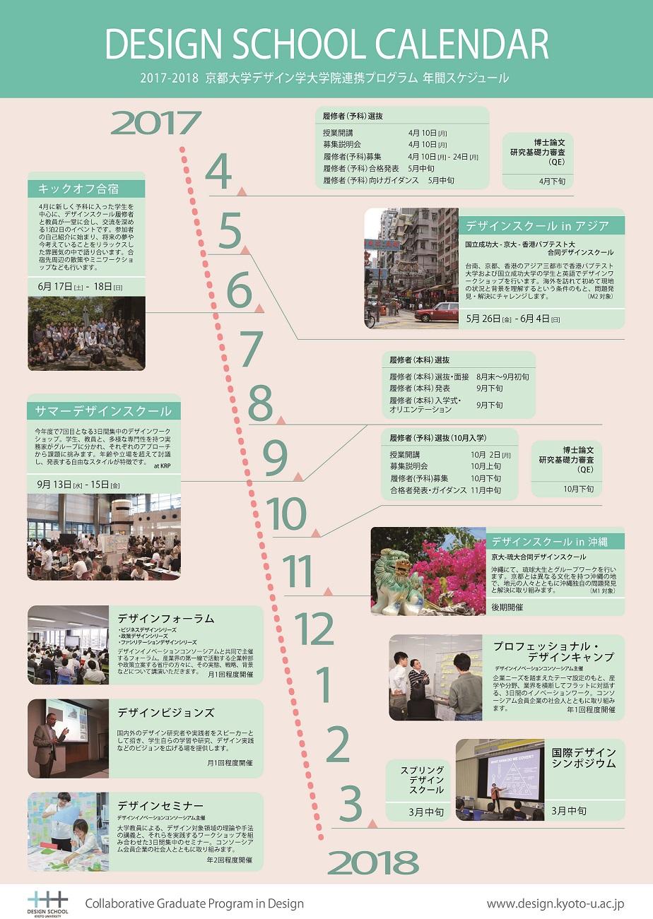 平成29年度スケジュール Schedule 2017