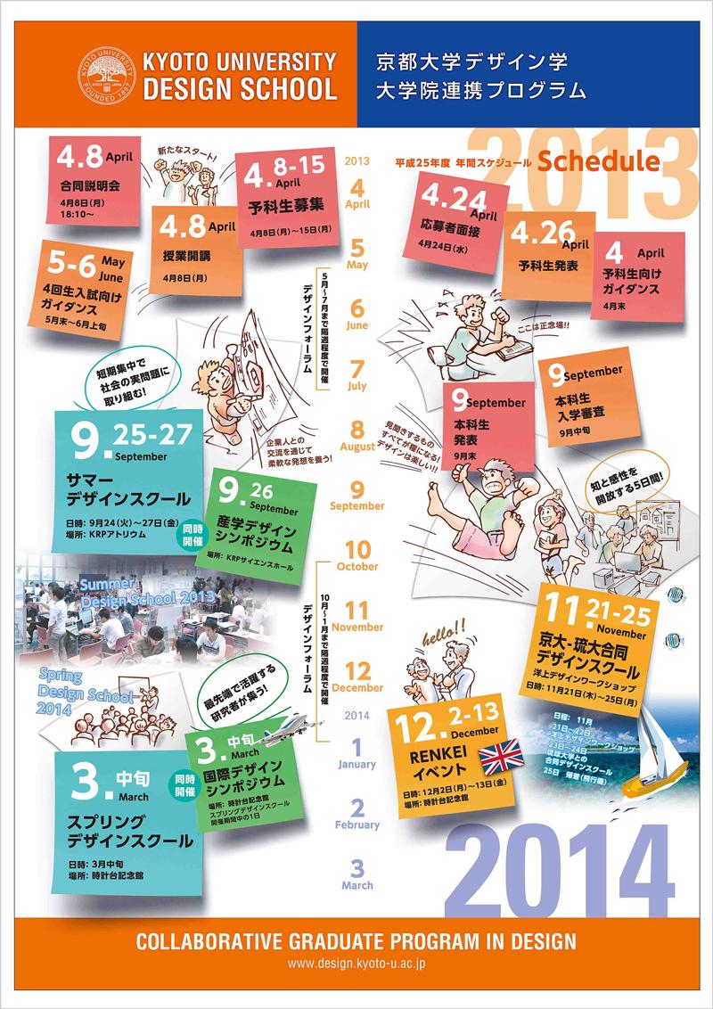 平成25年 年間スケジュール Schedule 2013