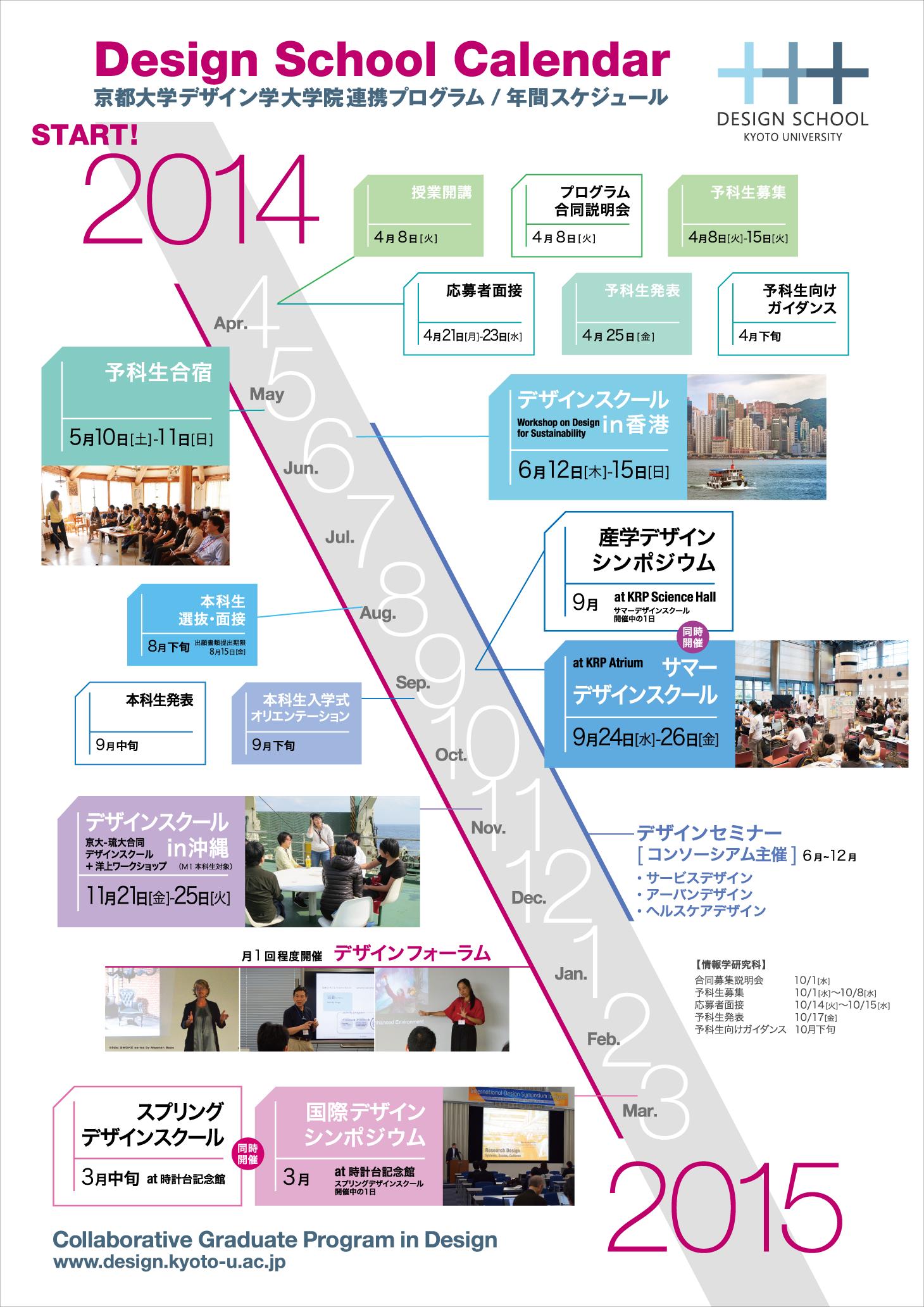 2014年スケジュール Schedule 2014