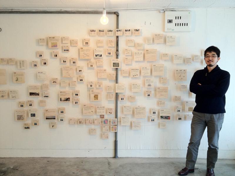 2012年11月に行なった「研究の展覧会 vol.1」の様子。研究というものを、わかりやすくかっこよく伝えることを試みた