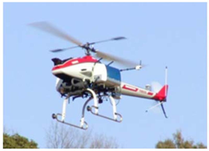 無人ヘリコプタの自律飛行制御
