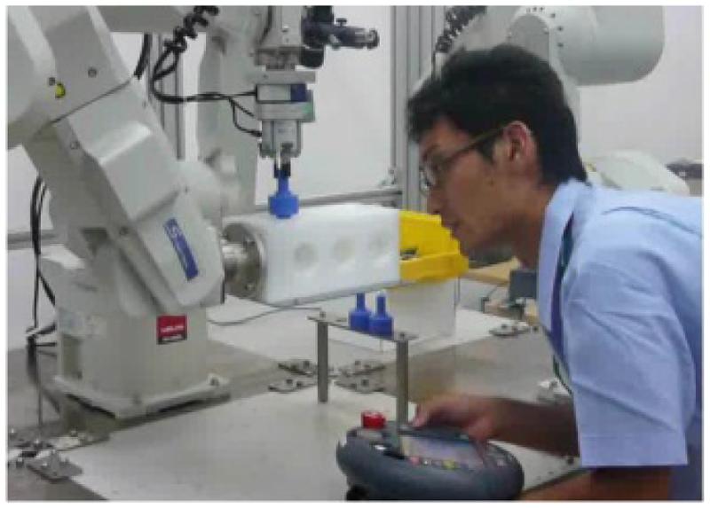 ロボット教示作業の支援技術