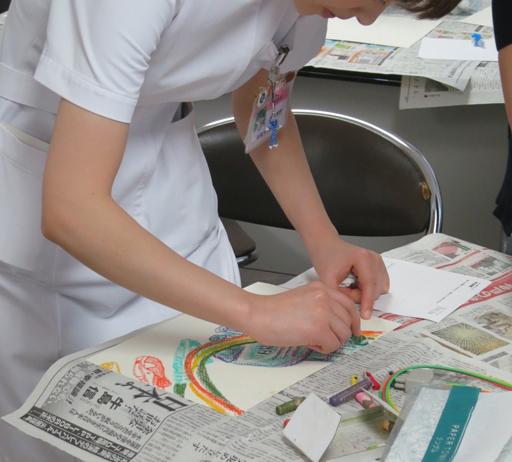 看護業務探索のための表現ワークショップ(S国立大学病院2012)Expression Workshop for Exploring Essence of Nursing