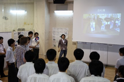 高校生に対するプレゼンテーション